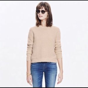 Madewell Knitted Crew neck sweater